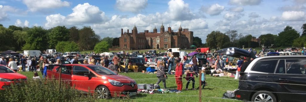 Long melford Stately Home car boot