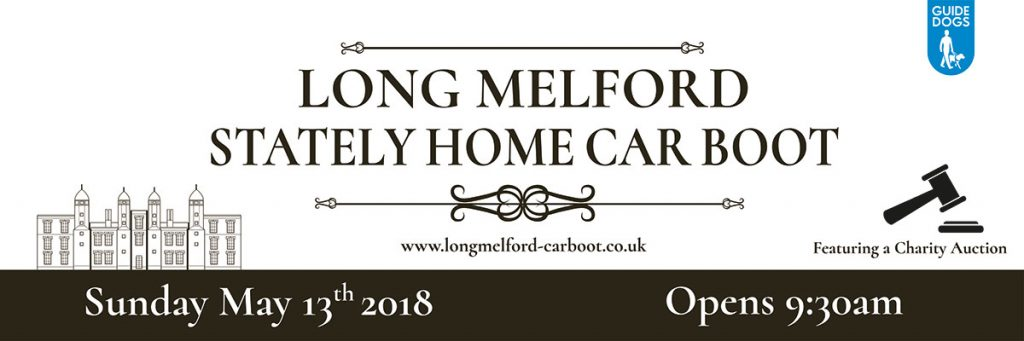 Long Melford Stately Home Car Boot Sunday May13th 2018